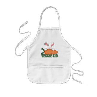Veggie Kid Rabbit Kids Apron