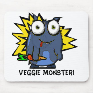 Veggie Monster Mouse Pad
