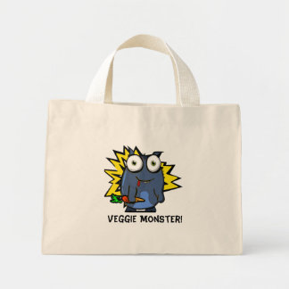 Veggie Monster Tote Bag