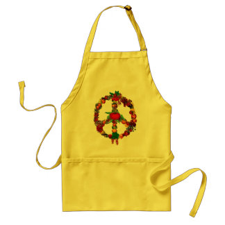 Veggie Peace Sign Standard Apron