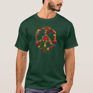 Veggie Peace Sign T-Shirt