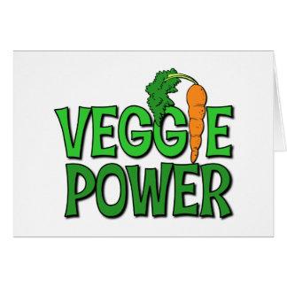 Veggie Power Gift Greeting Card