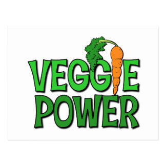 Veggie Power Gift Postcard