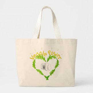 Veggie Power Jumbo Tote bag