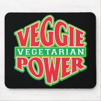 Veggie Power Mouse Pad