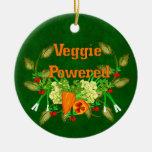 Veggie Powered Christmas Tree Ornament