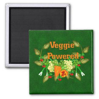 Veggie Powered Fridge Magnet