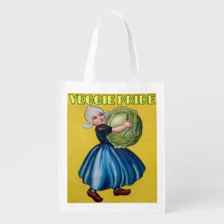 veggie pride,vegetarians,eco,recyclable,reusable reusable grocery bag