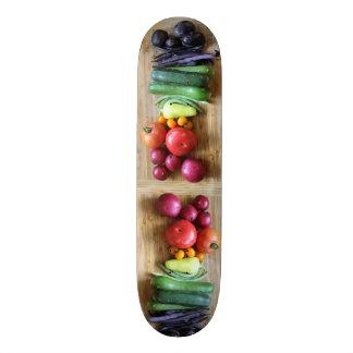 Veggie Rainbow Skateboard