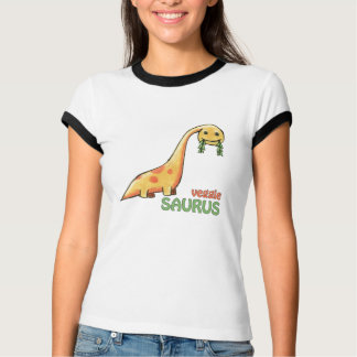 Veggie Saurus ladies shirt