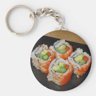 Veggie Sushi Keychain