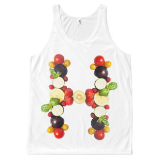 veggieart H-ealthy All-Over Print Tank Top