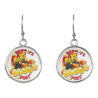 VeggieArt Sport Earrings