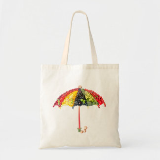 VeggieArt umbrella Budget Tote Bag