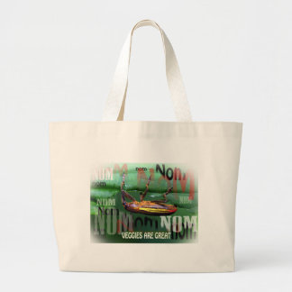 veggies are great canvas bag