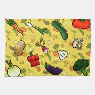 Veggies Kitchen Towl Tea Towel