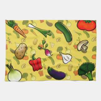 Veggies Kitchen Towl Towels