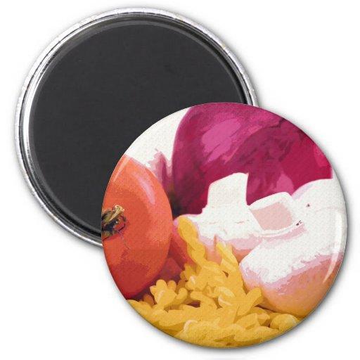 Veggies n' Pasta Magnet