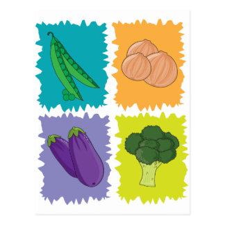 Veggies Postcard