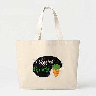 Veggies Rock Canvas Bag