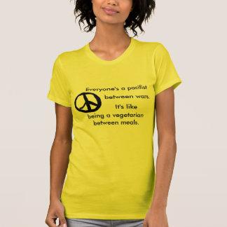 vegi peace tshirts