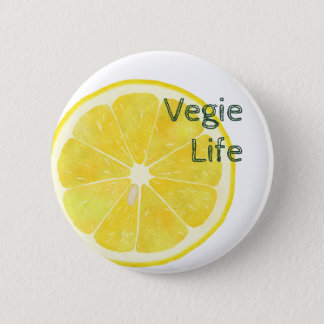 Vegie Life LEMON Button