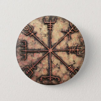 Vegvisir 6 Cm Round Badge