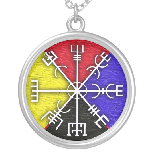 vegvisir silver plated necklace