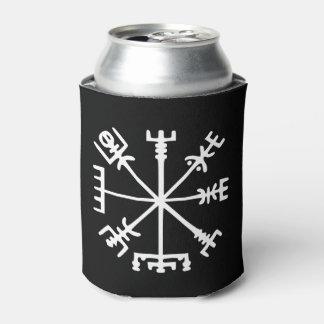 Vegvísir (Viking Compass) Can Cooler