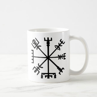 Vegvísir (Viking Compass) Coffee Mug