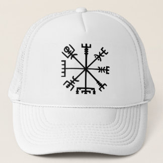 Vegvísir (Viking Compass) Trucker Hat