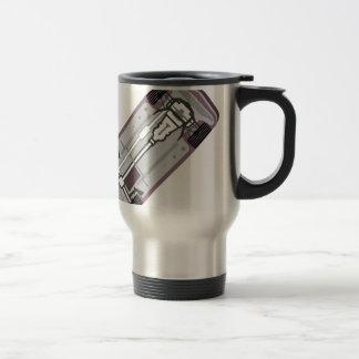 Vehicle frame stainless steel travel mug