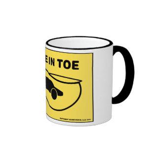 Vehicle in Toe Ringer Mug