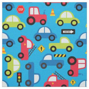 Tractor Fabric | Zazzle co uk