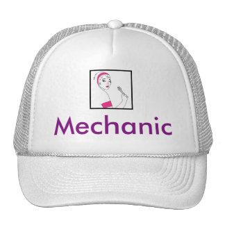 Vehicle Repair Female Mechanic Hat