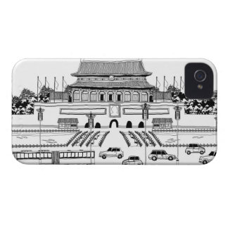 Vehicles in Pagoda iPhone 4 Cover