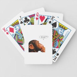Vei, na boa, sei não. poker deck