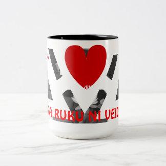 Veidakua Heart Coffee Mugs