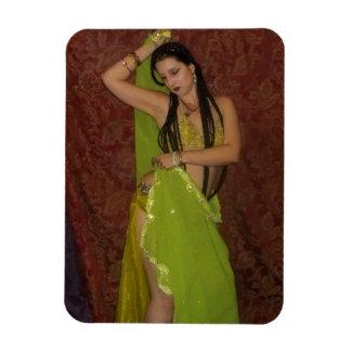 Veil Belly Dancer Photo Magnet