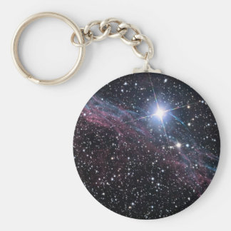 Veil Nebula Basic Round Button Key Ring