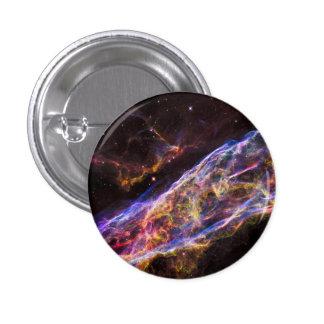 Veil Nebula Supernova Remnant 3 Cm Round Badge