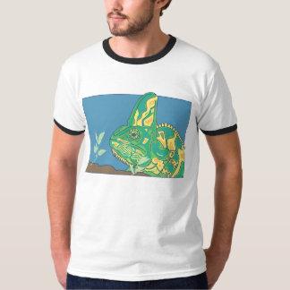 Veiled chameleon mens t-shirt