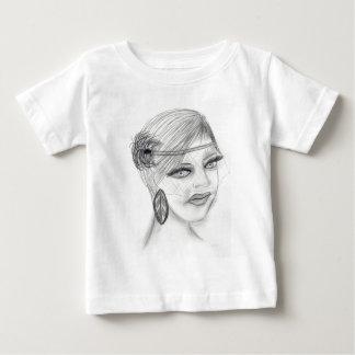 Veiled Deco Girl Tee Shirt