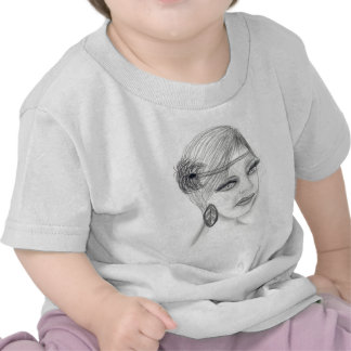 Veiled Deco Girl T-shirts
