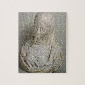 Veiled Girl (marble) Jigsaw Puzzle