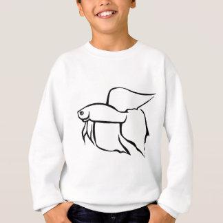 Veiltail betta sweatshirt