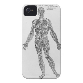 Veins and Arteries system (b/w print) Case-Mate iPhone 4 Case