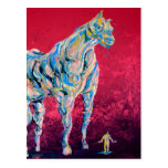Veiny Horse postcard
