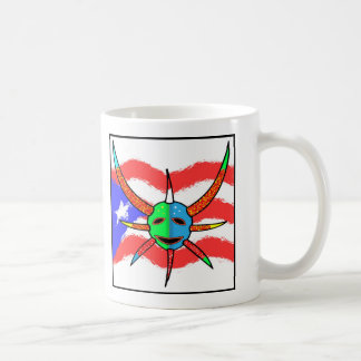vejigante mask coffee mug