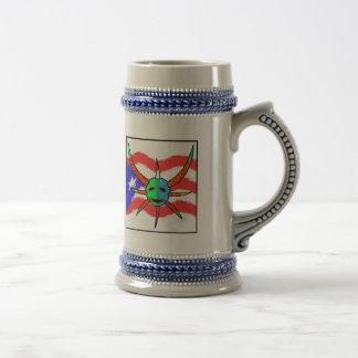 vejigante mask coffee mugs